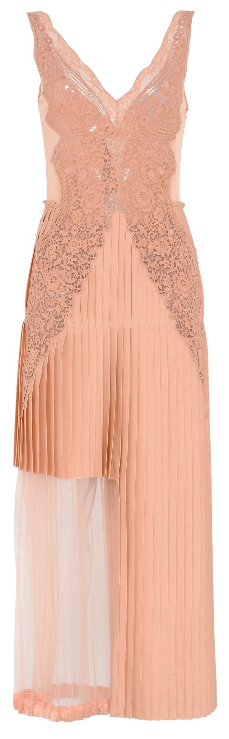 Lazo Caprichoso Blog de moda Moda Low Cost III Vestido plisado y con encaje Stella McCartney