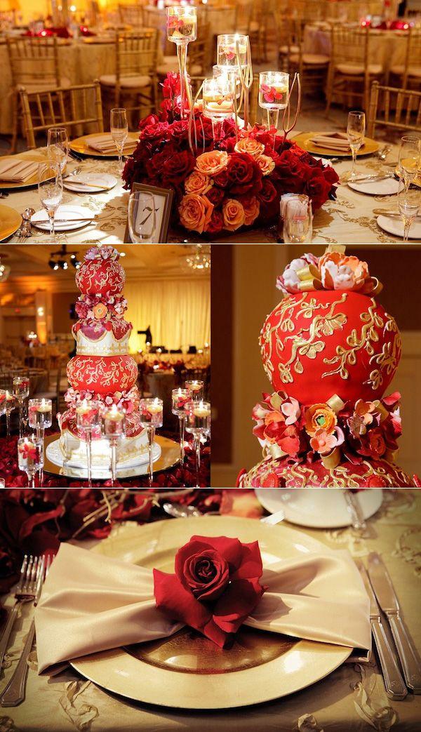 Oriental Wedding Centerpieces