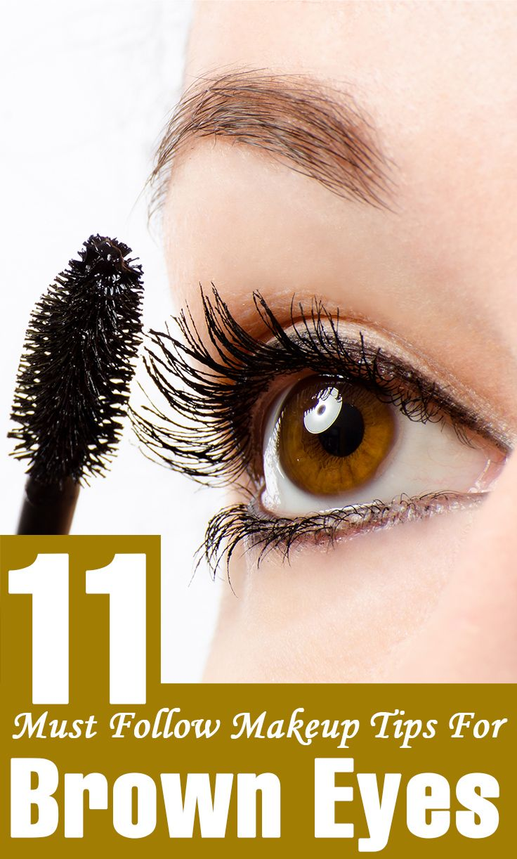 11 Must Follow Makeup Tips For Brown Eyes