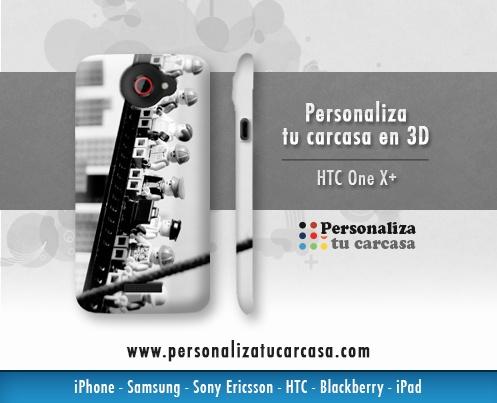 Personaliza tu Carcasa HTC One X+