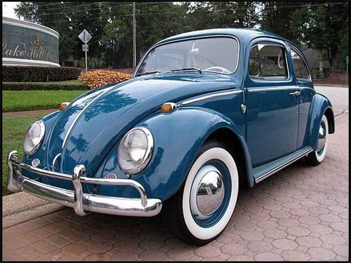 VW Fusca : 1964