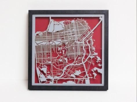 Best Map Art Images On Pinterest Map Art City Maps And DIY - Artist creates ridiculously detailed paper cuts of city maps