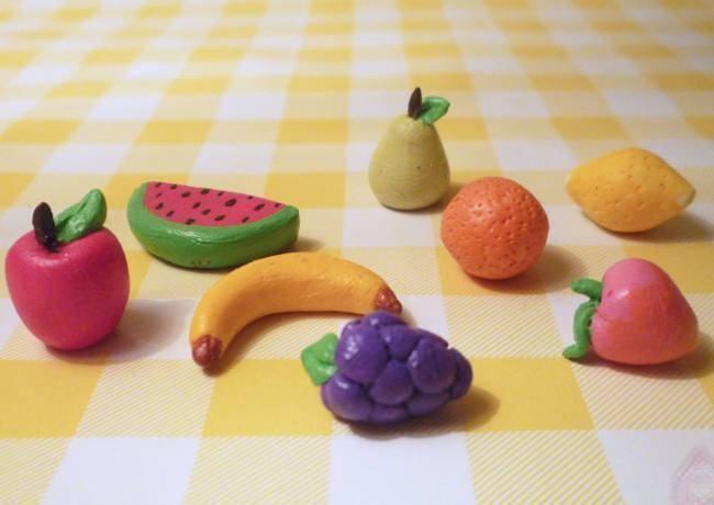 Massa de Biscuit: Modelando Frutas