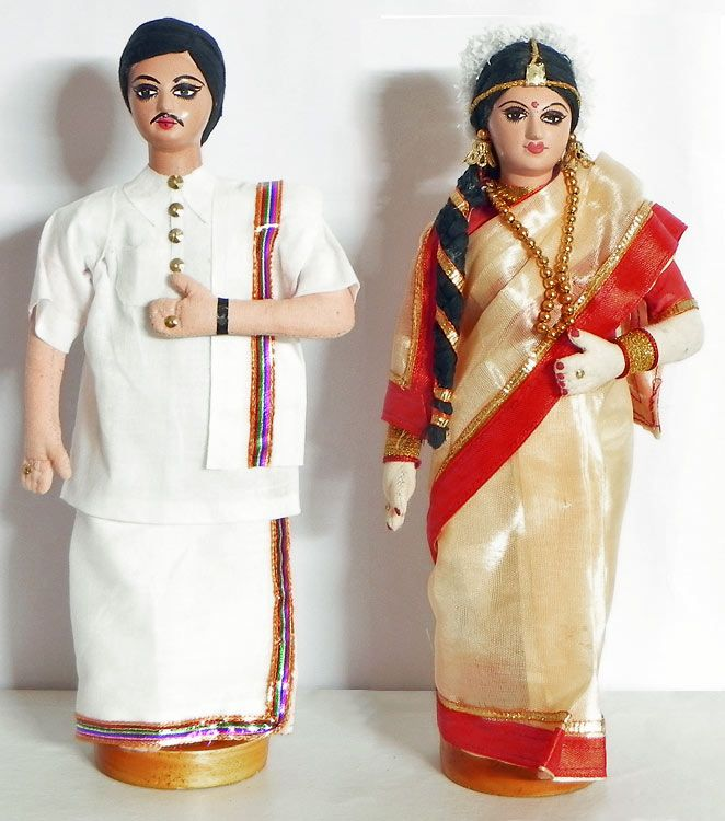 Tamil Bride and Bridegroom (Cloth)
