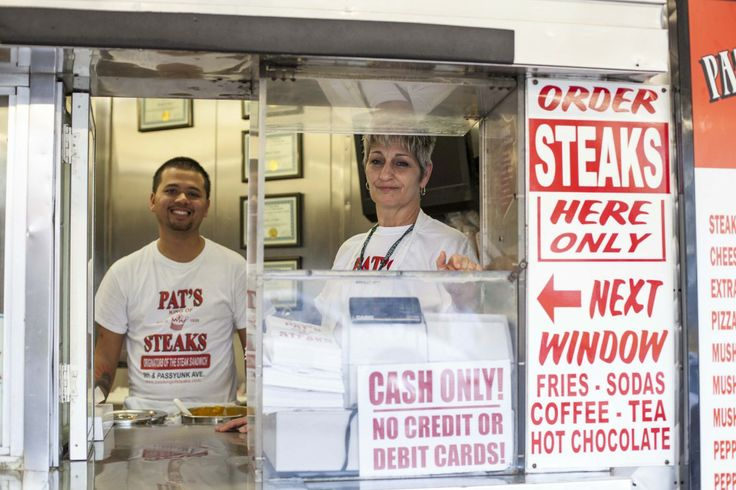 Pat's Cheesesteaks! #philly
