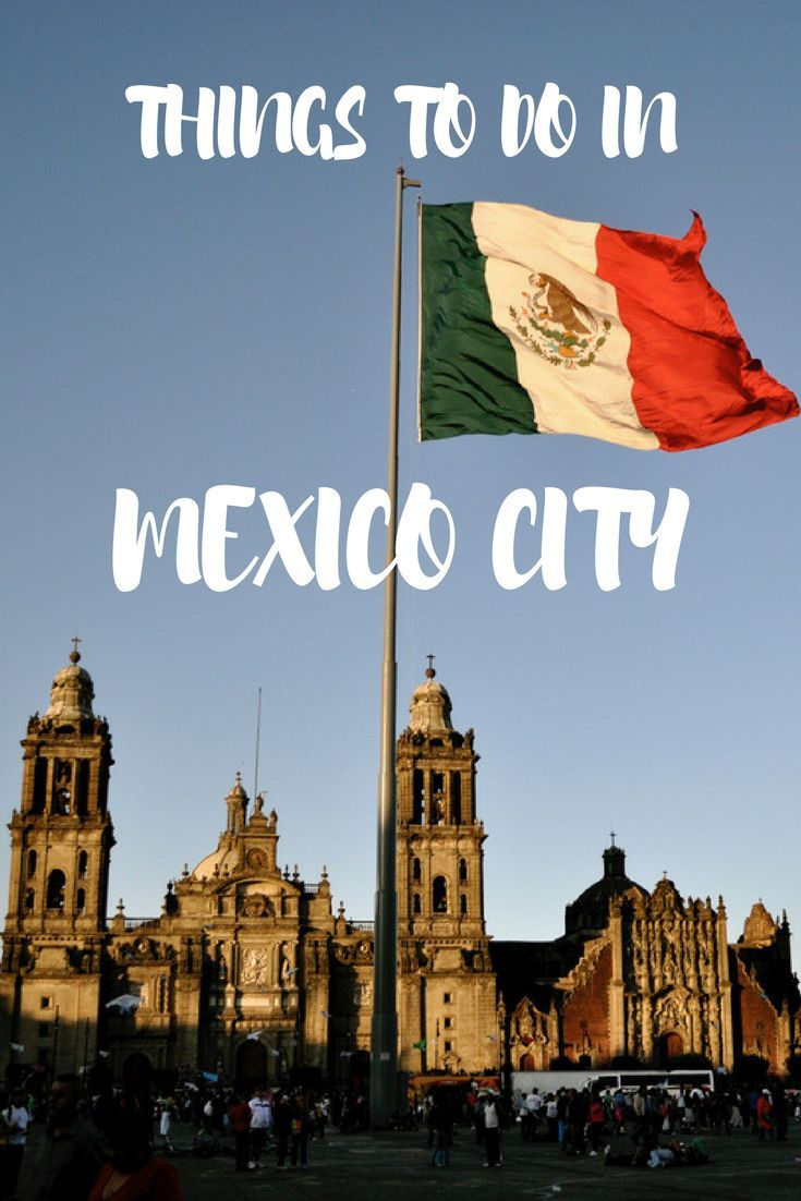 Things to Do in Mexico City. Click here to find out more!  #Mexico #travel