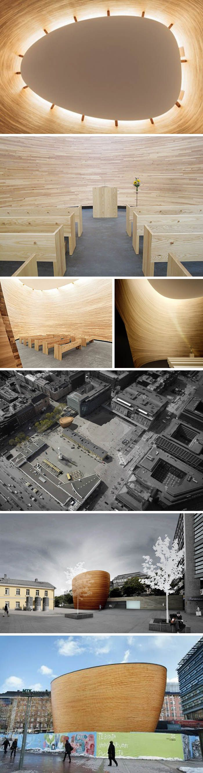 Kamppi Chapel of Silence / Helsinki, Finland / K2S Architects
