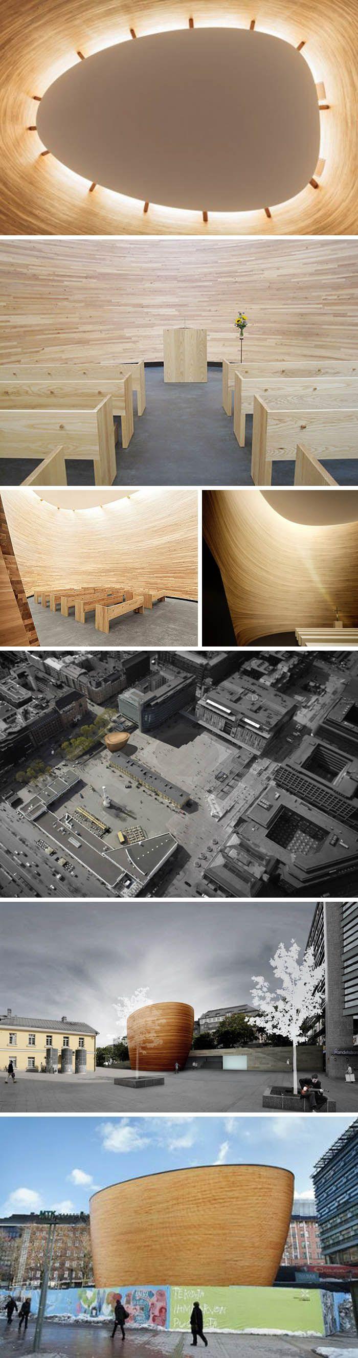 Kamppi Chapel of Silence / Helsinki, Finland / K2S Architects