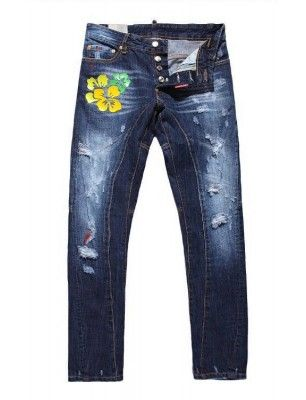 Dsquared jeans slim destroy dibujo