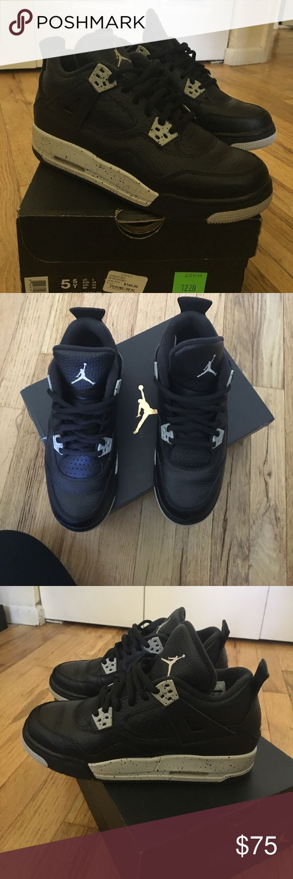 Jordan Retro 4 - Oreos Retro 4 Oreos Jordan Shoes Athletic Shoes