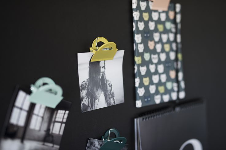 One can never have to many pretty paper clips. #lagerhaus #aw15
