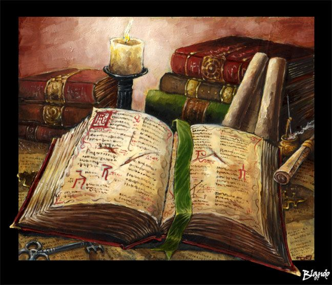 The Tome of Knowledge by Stormcrow135.deviantart.com