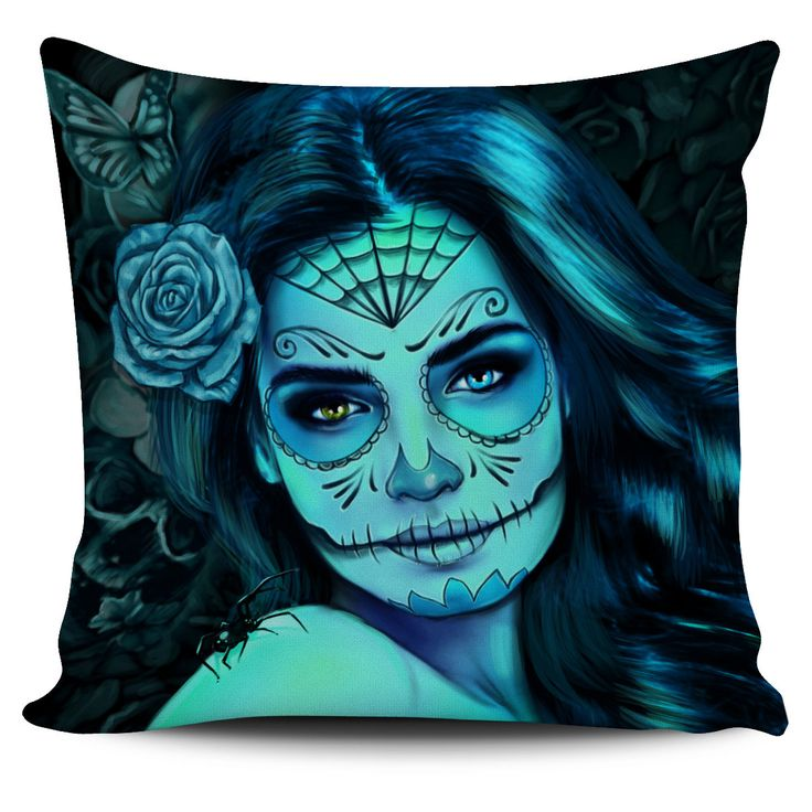 Now available on our store: Calavera Spider T... Check it out here! http://nvr2lte2shop.com/products/calavera-spider-pillow-covers?utm_campaign=social_autopilot&utm_source=pin&utm_medium=pin