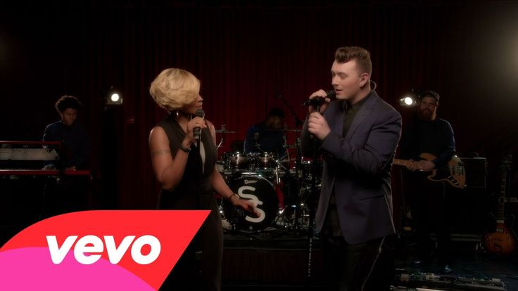 Sam Smith - Stay With Me ft. Mary J. Blige I could listen to this song on repeat forever.