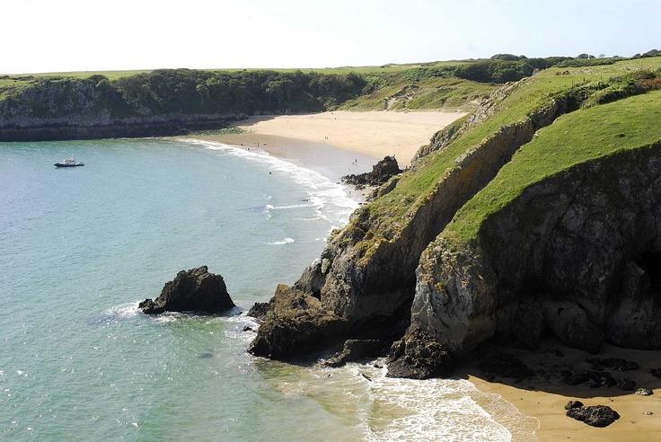 Barafundle Bay, Pembrokeshire, Wales.
