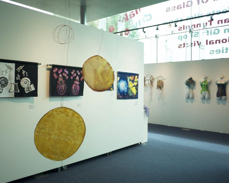 Light Fantastic exhibition at The World of Glass, St Helens by Textile 21 www.textile21.co.uk #textile art #textileartexhibition