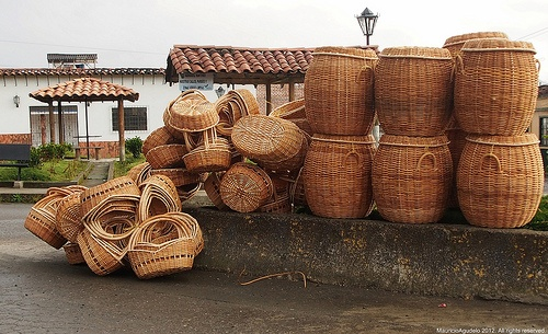 Cestos de Chagualo Sonson Antioquia Colombia