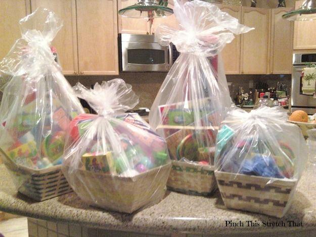 Homemade Easter Basket Ideas