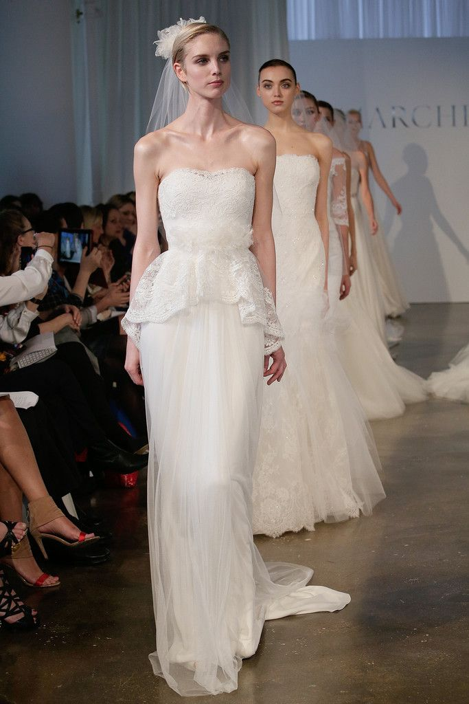 Marchesa bridal spring 2014