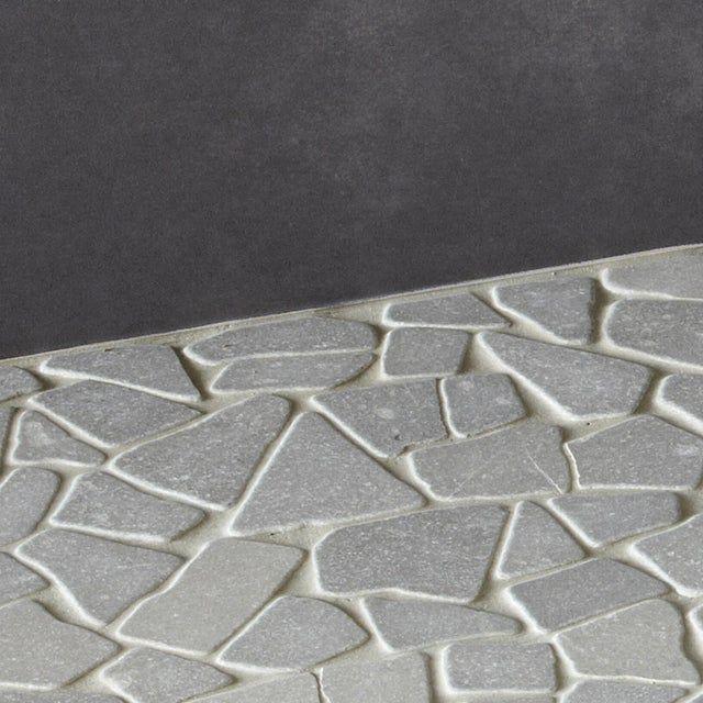 Galets Sol Et Mur Opus Gris 30 5 X 30 5 Cm Artens Leroy Merlin Arredamento Bagno