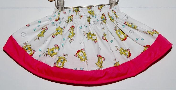 Sandlwood Girls Swing Skirt - Animal Clock - Babies & Kids