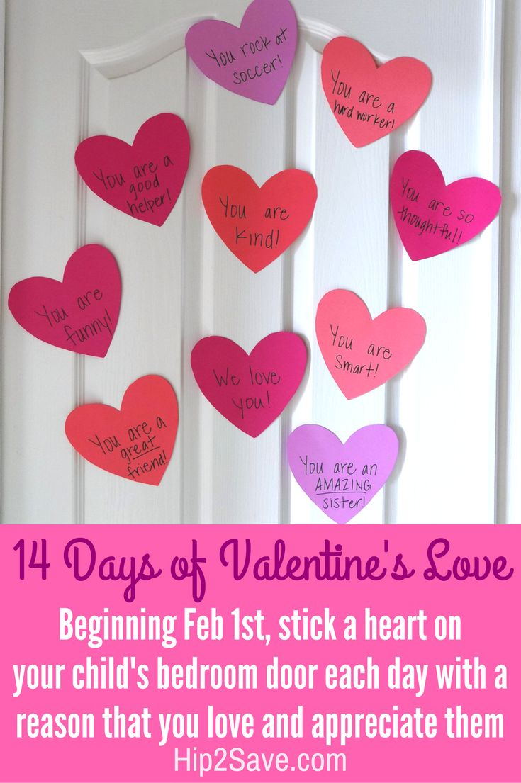Shower Your Kids with 14 Days of Valentine's Love – Hip2Save