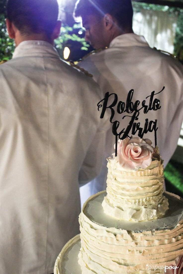 Pow wedding