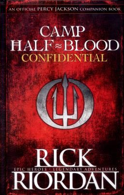 "Camp Half-Blood Confidential by Rick Riordan. Narrated by none other than Percy Jackson himself, and other favourite characters will be heard from, too. In response to an awful camp orientation video created by the god Apollo, Percy Jackson and other residents of Camp Half-Blood answer such questions as ""What is this place?"" and ""Do I get to keep the T-shirt?"" Newbies can check out the section on the Divine Cabins, read up on Magical Landmarks."
