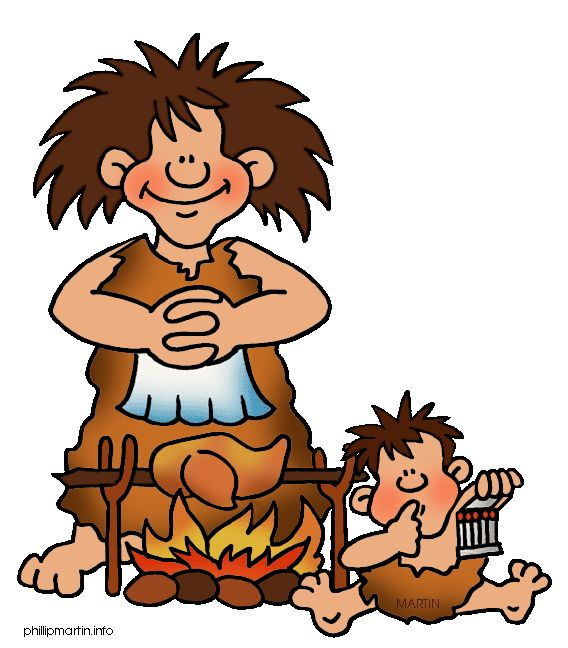 Stone Age Britain - Front Page Clipart | Ancient & World ...