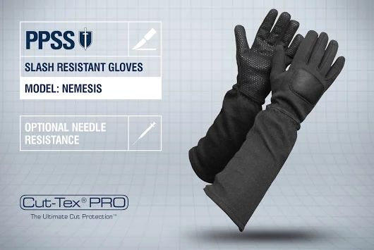 PPSS #SlashResistantGloves (Nemesis) with optional #needleresistance