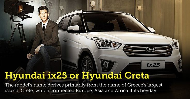Hyundai's new small SUV will be called Creta!  The model's name derives primarily from the name of Greece's largest island, #Crete, which connected Europe, Asia and Africa it its heyday.   ▶ http://www.rental-center-crete.com/blog/hyundais-new-small-suv-will-be-called-creta/