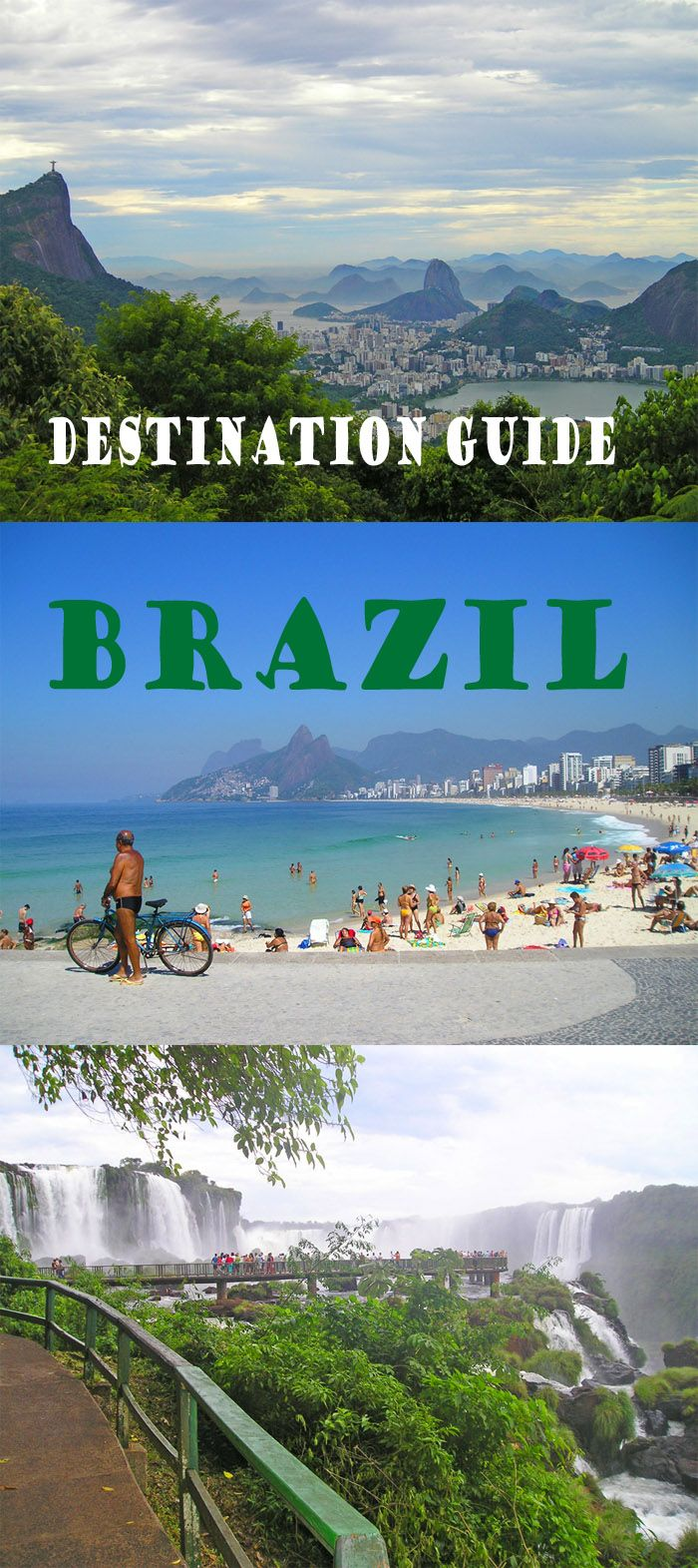 Destination Guide - Brazil. Everything you need to know and places to go! http://bbqboy.net/brazil-guide-travel-tips/ #brazil #destinationguide