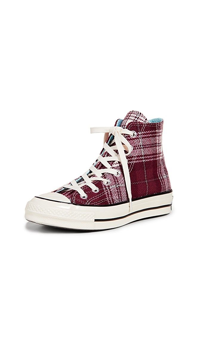 778e22ac797d Converse Chuck 70 Plaid High Top Sneakers | 15% off 1st app order use code:  15FORYOU