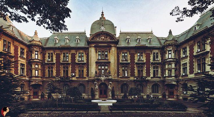 Palatul Ministerului Agriculturii și Domeniilor, Bucureşti.
