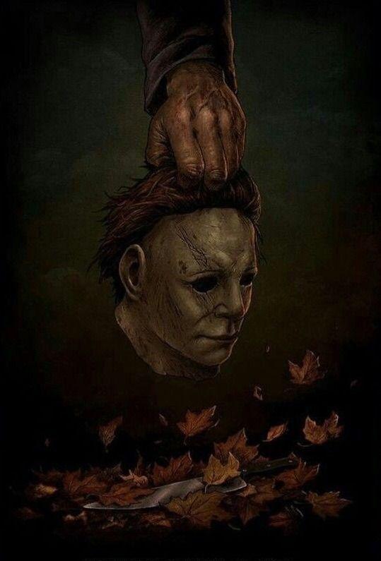 """deathtown """" Halloween (2018) """" Michael myers art"""
