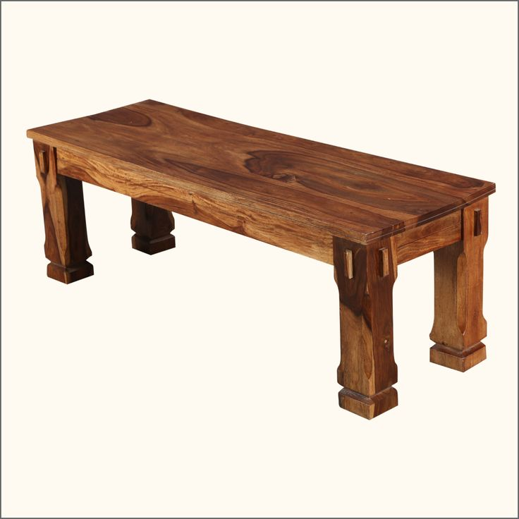 Amp the enjoyment of family dinners or gatherings with our Denver Wood  Dining Bench. Handcrafted