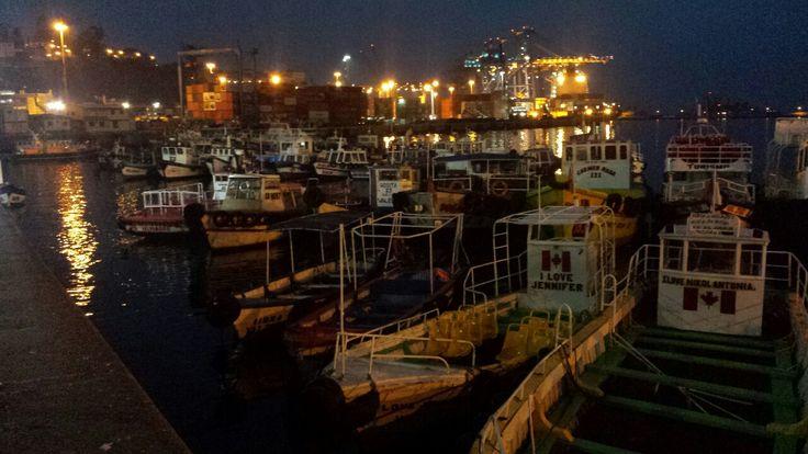 Noche en el Puerto #PaseodeDomingo #Valparaiso #Chile