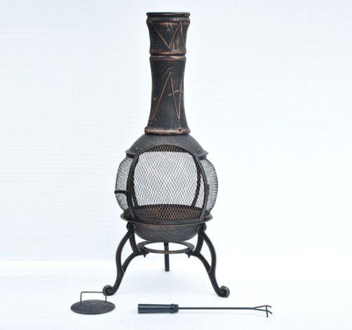 17 meilleures id es propos de po le antique sur for Foyer exterieur acier