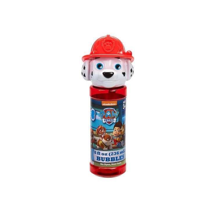 Paw Patrol 4-pk. Marshall Bubble Heads Bubble Pack by Little Kids, Blue