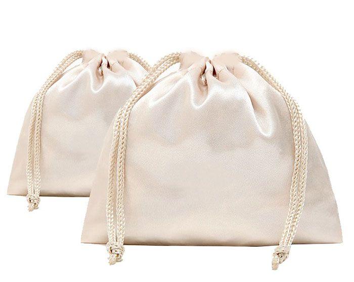 Download Diy Satin Fabric Drawstring Gift Bag Satin Bags Linen Bag Drawstring Bag Diy