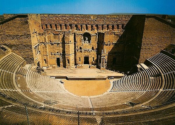 roman theater of orange, france. Sponsored by Augustus ...