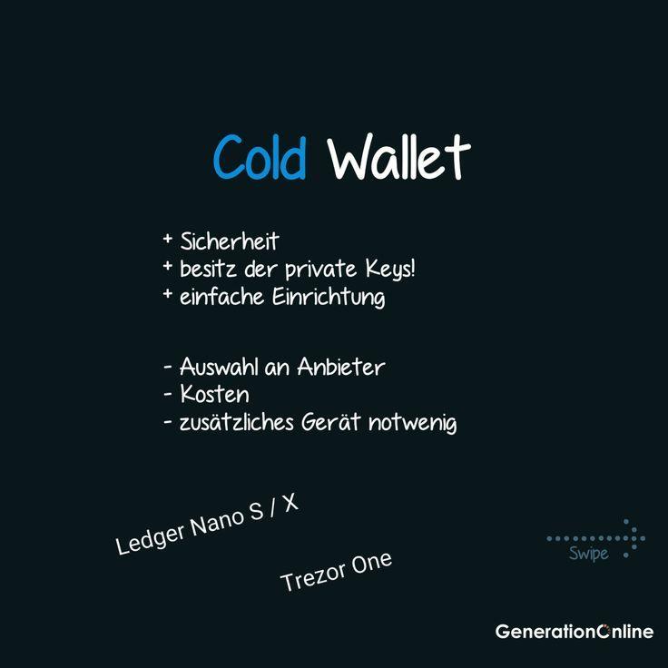 Krypto Wallet Hot Cold Wallet Unterschiede Generationonline Kryptowahrung Blockchain Internetverbindung