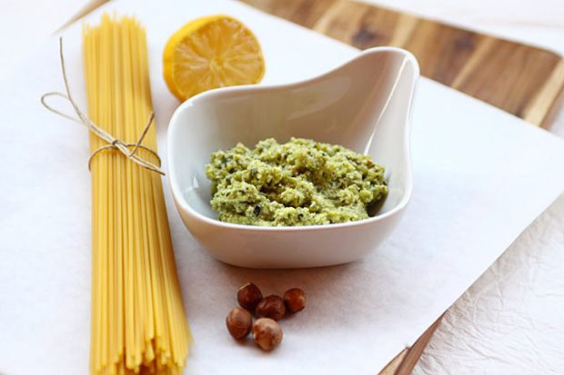 Pesto sült cukkiniből