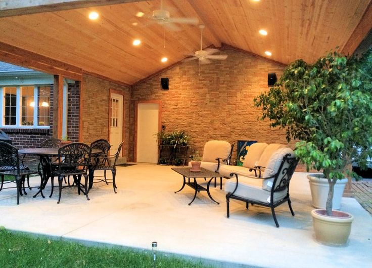 Covered Patio   By Klein Developments   Construction In St Louis  #outdoorliving