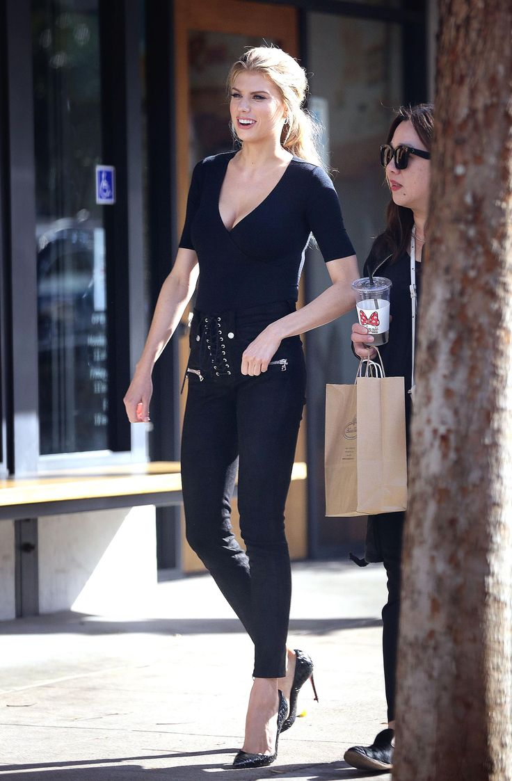 Charlotte McKinney out in Studio City