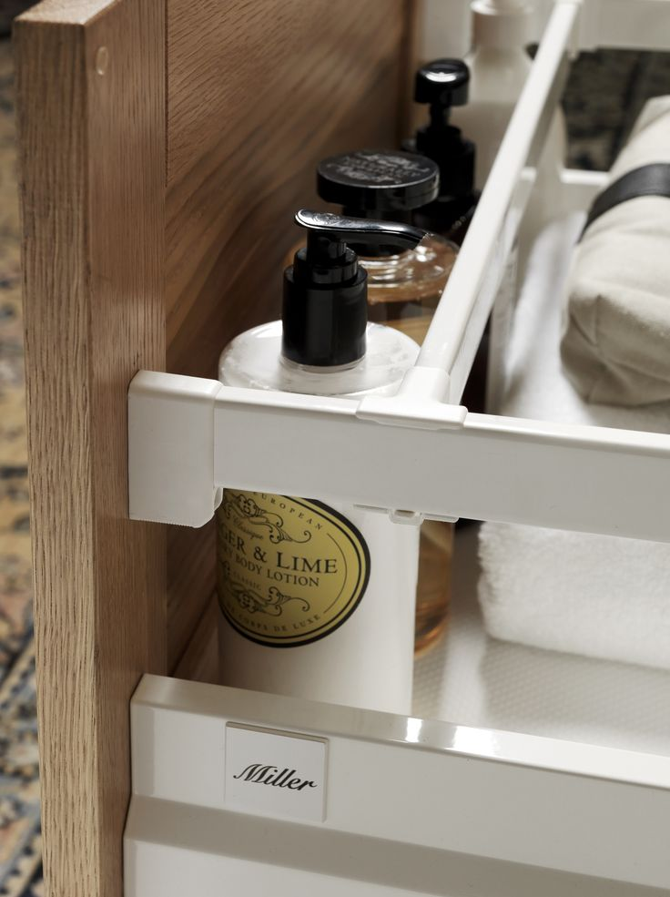 Attractive Miller Bathroom Furniture Adjustable Stop List In All Lower Drawers In  London And New York