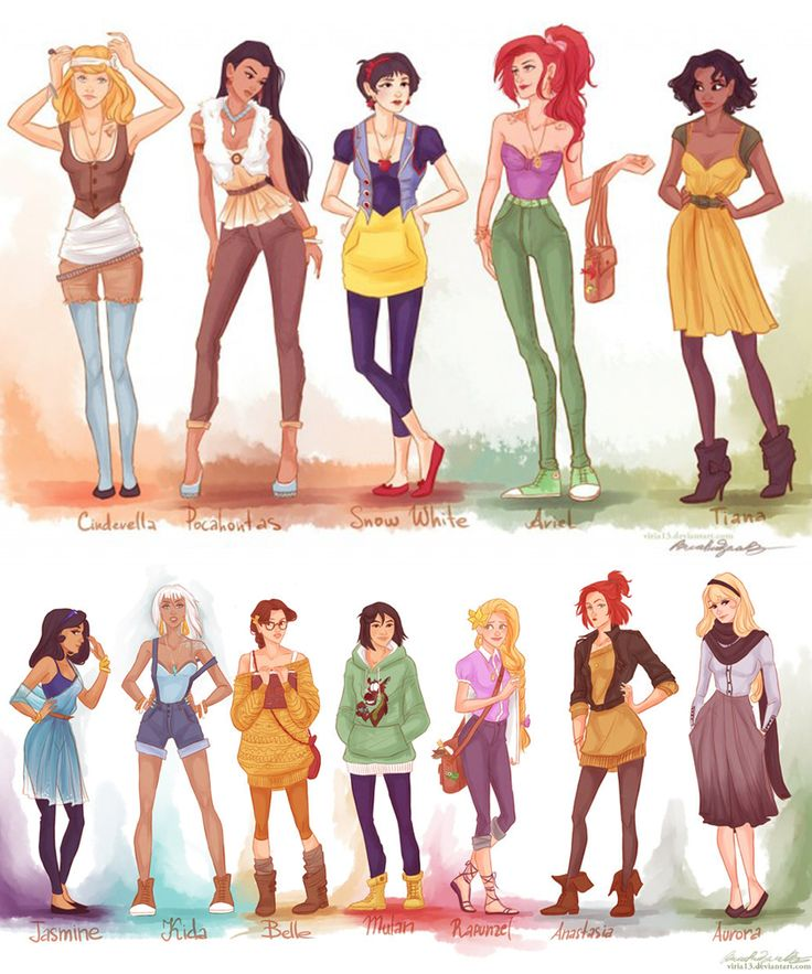 Here's What Disney Princesses Would Look Like As Actual Teenagers