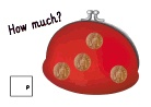 red money purse with coins totalling 10p.pdf
