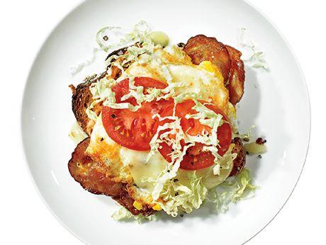 Spicy Bacon and Egg Recipe | Epicurious.com