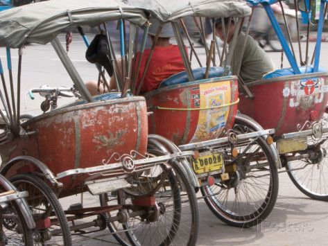 Bicycle Taxi, Khon Kaen